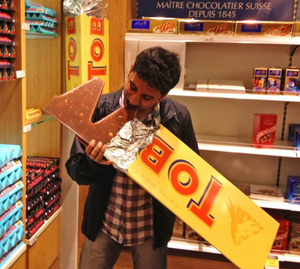 Giant Toblerone Chocolate Bar - Where To Buy It & How Big Is It?