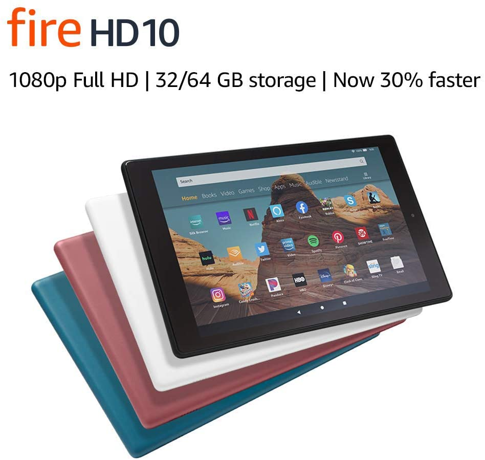 Newest Kindle Fire: Fire HD 10 Tablet (2020 Review Guide)