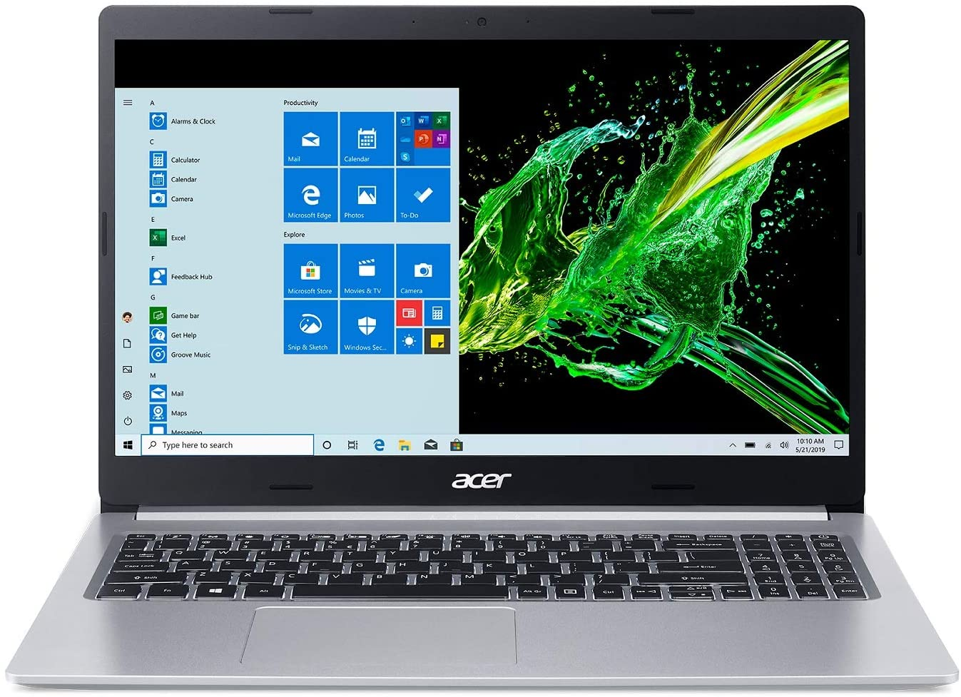 Acer aspire 5 laptop for writers