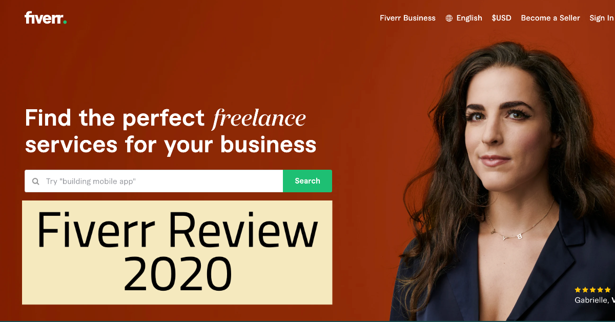 Fiverr Review 2020 Main Image