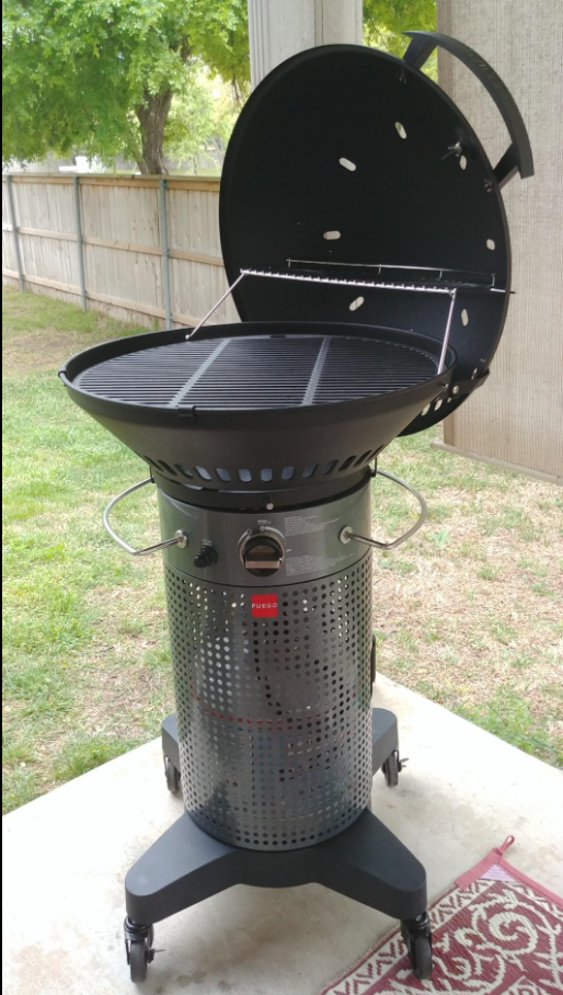 fuego gas grill review
