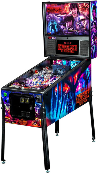 coolest pinball machine - stranger things
