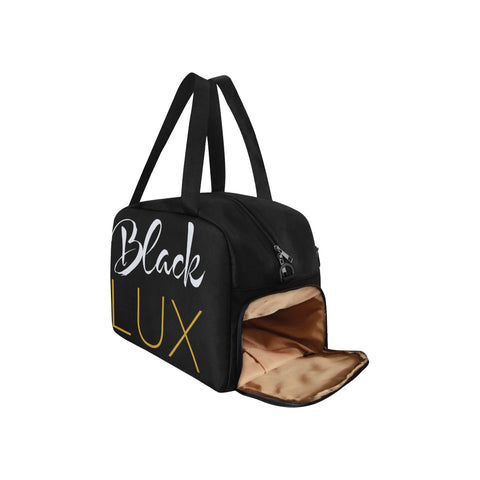 Black Lux Logo GymBag,Accessories- BLACKLUX