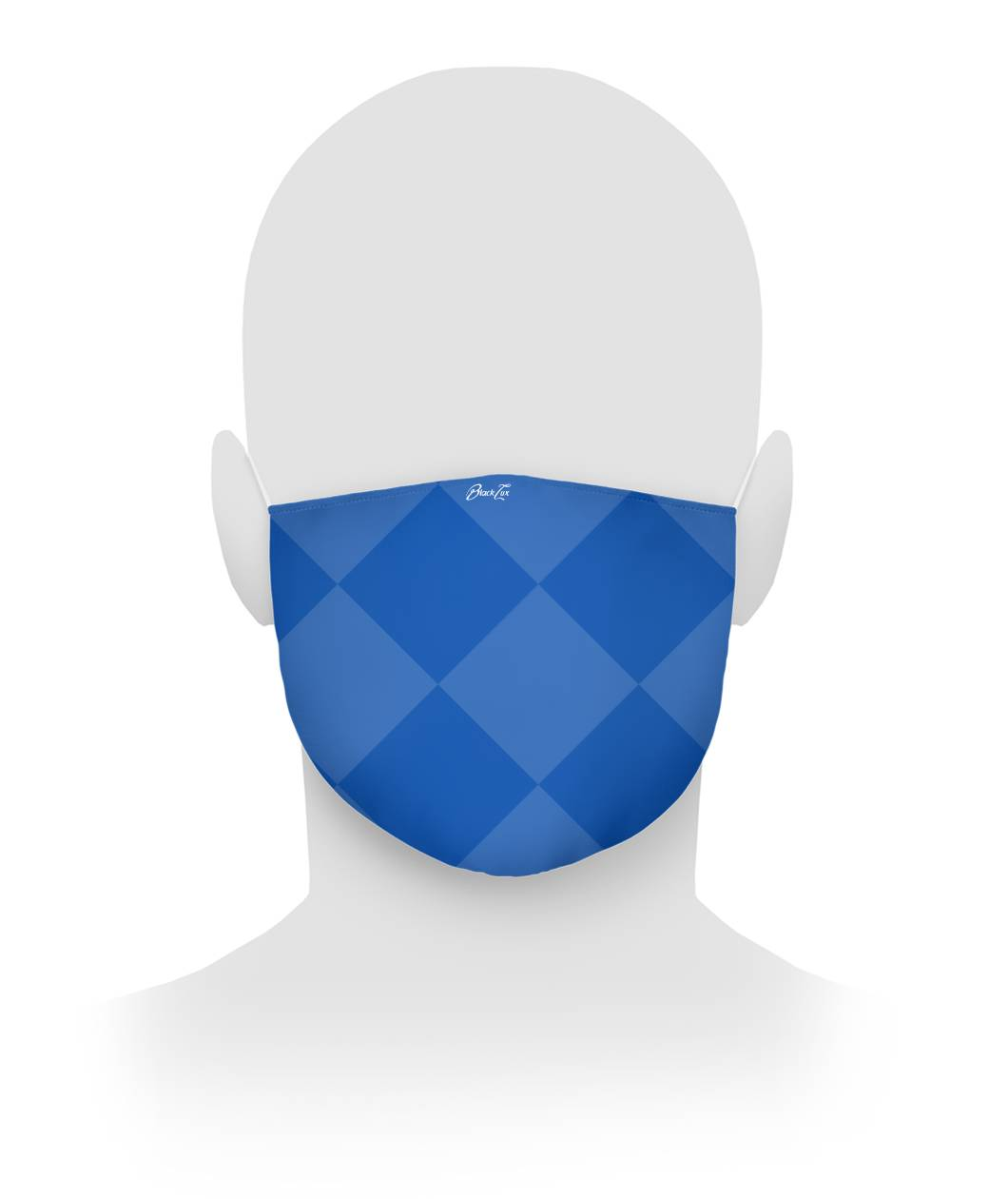 BLUE DIAMOND Cloth Face Mask,Accessories- BLACKLUX