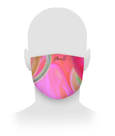 Colorful Cloth Face Mask,All Over Print- BLACKLUX