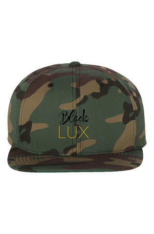 Camo Lux Snapback - BLACKLUX