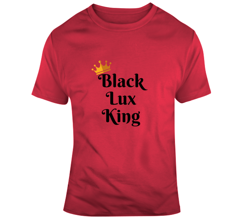Black Lux King RED,Apparel- BLACKLUX