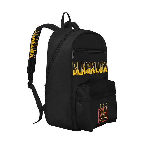 BLACKLUX GUNMETAL LOGO BOOKBAG,Accessories- BLACKLUX