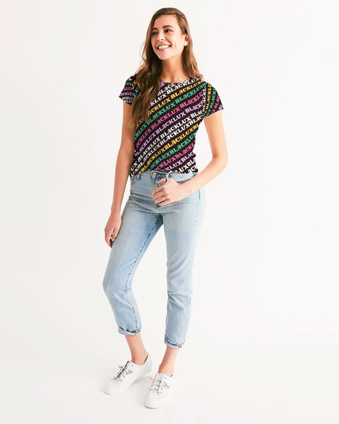 MULTI LUX Women's Tee,Apparel- BLACKLUX