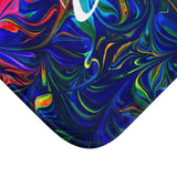 Vibrancy Bath Mat,Home Decor- BLACKLUX