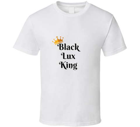 Black Lux King WHITE,Apparel- BLACKLUX