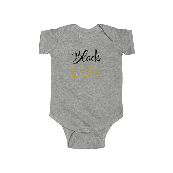 Luxurioux Baby Bodysuit,Kids- BLACKLUX