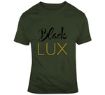 Black Lux Military T-Shirt,Apparel- BLACKLUX