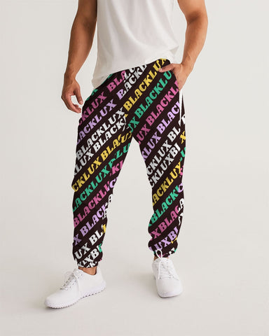 MULTI LUX Men's Track Pants,Apparel- BLACKLUX