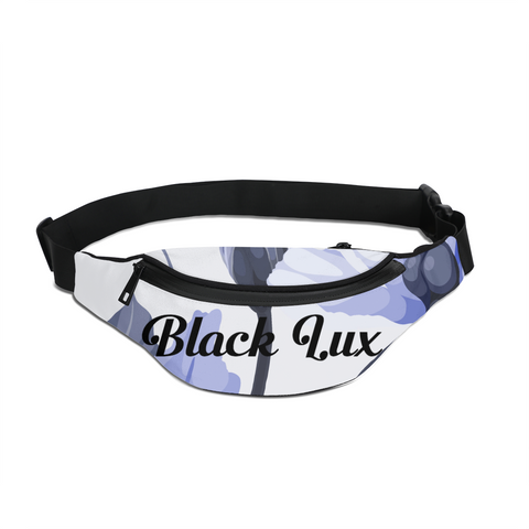 LUX BLUE FLORAL CROSSBODY SLING BAG,Accessories- BLACKLUX