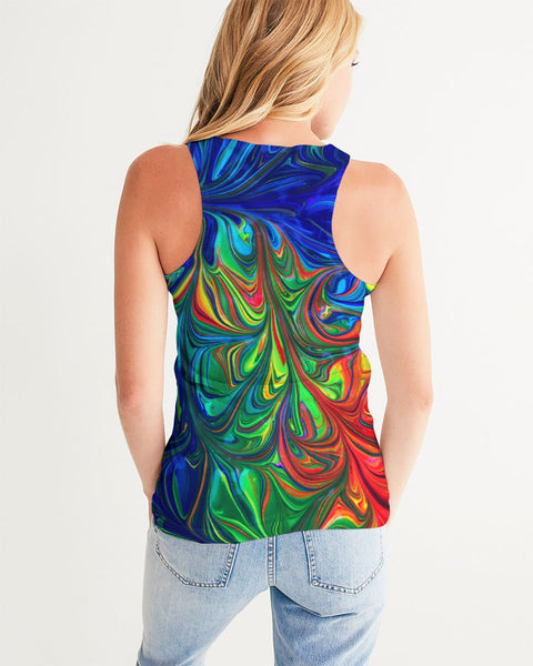 Vibrancy Women's Tank,Apparel- BLACKLUX