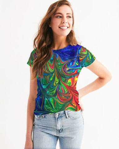 Vibrancy Women's Tee - BLACKLUX