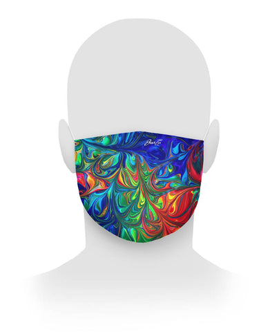 Vibrancy Lux Cloth Face Mask,Accessories- BLACKLUX