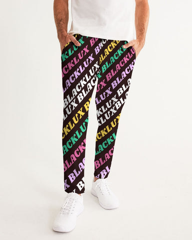 MULTI LUX Men's Joggers,Apparel- BLACKLUX