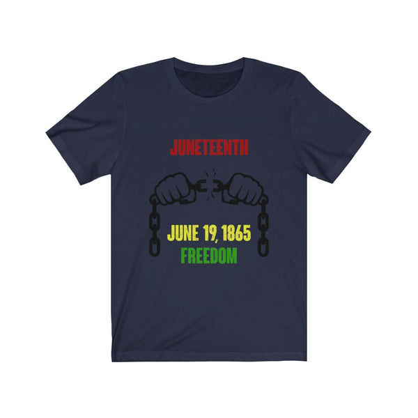 JUNETEENTH FREEDOM Tee,Apparel- BLACKLUX
