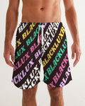 MULTI LUX Men's Swim Trunk,Apparel- BLACKLUX