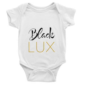 Luxurioux Baby Bodysuit (various colors),Apparel- BLACKLUX