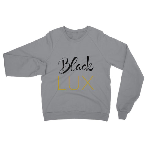 BlackLux Sweatshirt,Apparel- BLACKLUX
