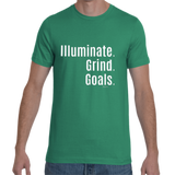 Illuminate. Grind. Goals Tee - BLACKLUX