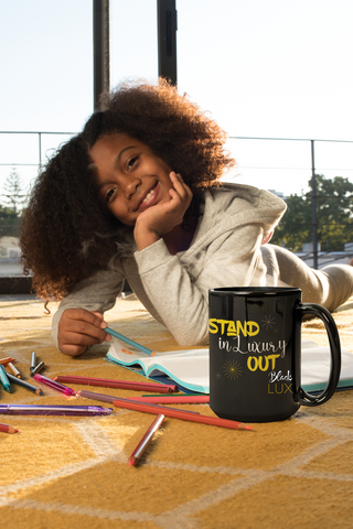 Stand Out in Luxury Mug - BLACKLUX