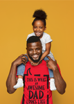 Awesome Dad Tee,T-Shirt- BLACKLUX