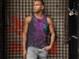 PeakOut Men's Tank,Apparel- BLACKLUX
