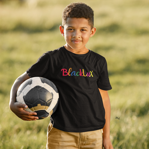 Youth Rainbow Deluxe T-Shirt - BLACKLUX