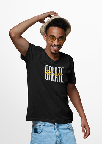 Create Elevate T-Shirt - BLACKLUX