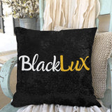 "BlackLux Sequin Pillow Case 18""x18"" - BLACKLUX"