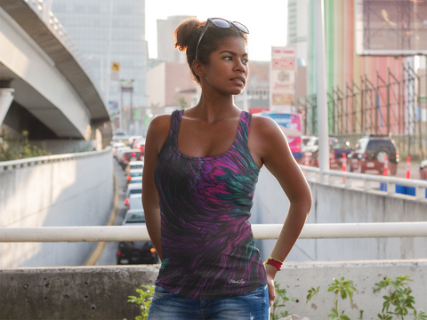 PeakOut Women's Tank,Apparel- BLACKLUX