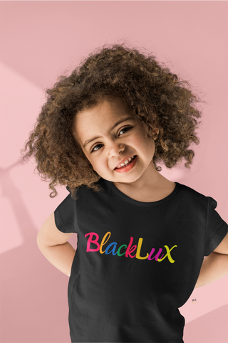 Toddler Rainbow Deluxe Tee - BLACKLUX