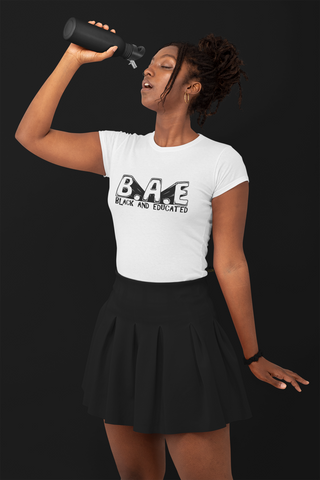 B.A.E. (Black and Educated) T-Shirt - BLACKLUX