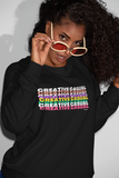 Creative Casual Sweatshirt,Apparel- BLACKLUX