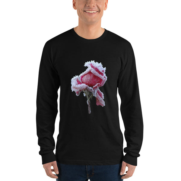 Winter Blooms Long sleeve,Apparel- BLACKLUX