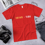 CULTURE + STYLE TEE,Apparel- BLACKLUX