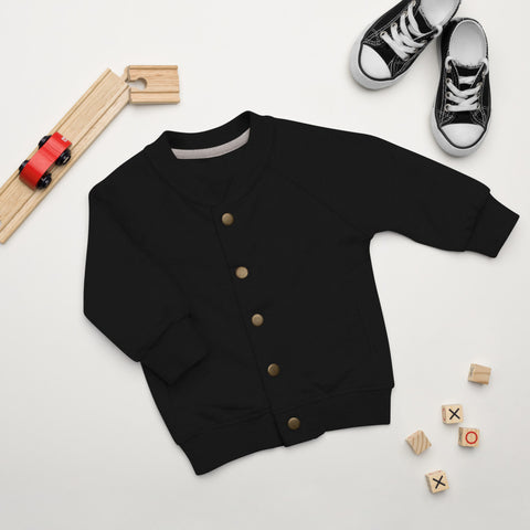 Creative Casual Trendsetter Baby Bomber Jacket,Apparel- BLACKLUX