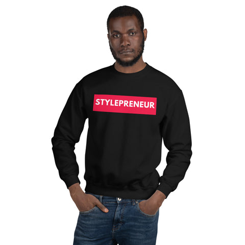 STYLEPRENEUR Sweatshirt,Apparel- BLACKLUX