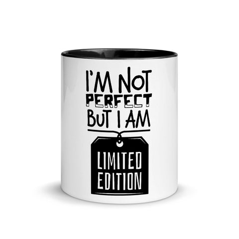I'M NOT PERFECT MUG - BLACKLUX