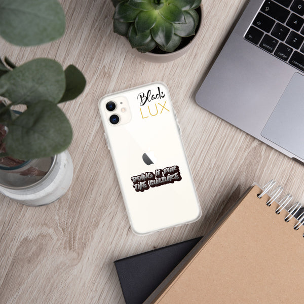Doing it for the culture iPhone Case,Accessories- BLACKLUX