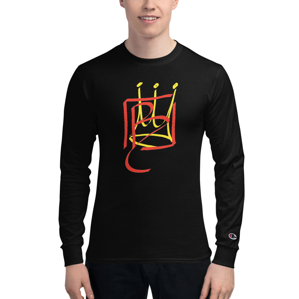 BCrown Be You Champion Long Sleeve Shirt,Apparel- BLACKLUX