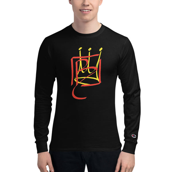 BCrown Be You Champion Long Sleeve Shirt - BLACKLUX