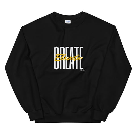 Create Elevate Sweatshirt,Apparel- BLACKLUX