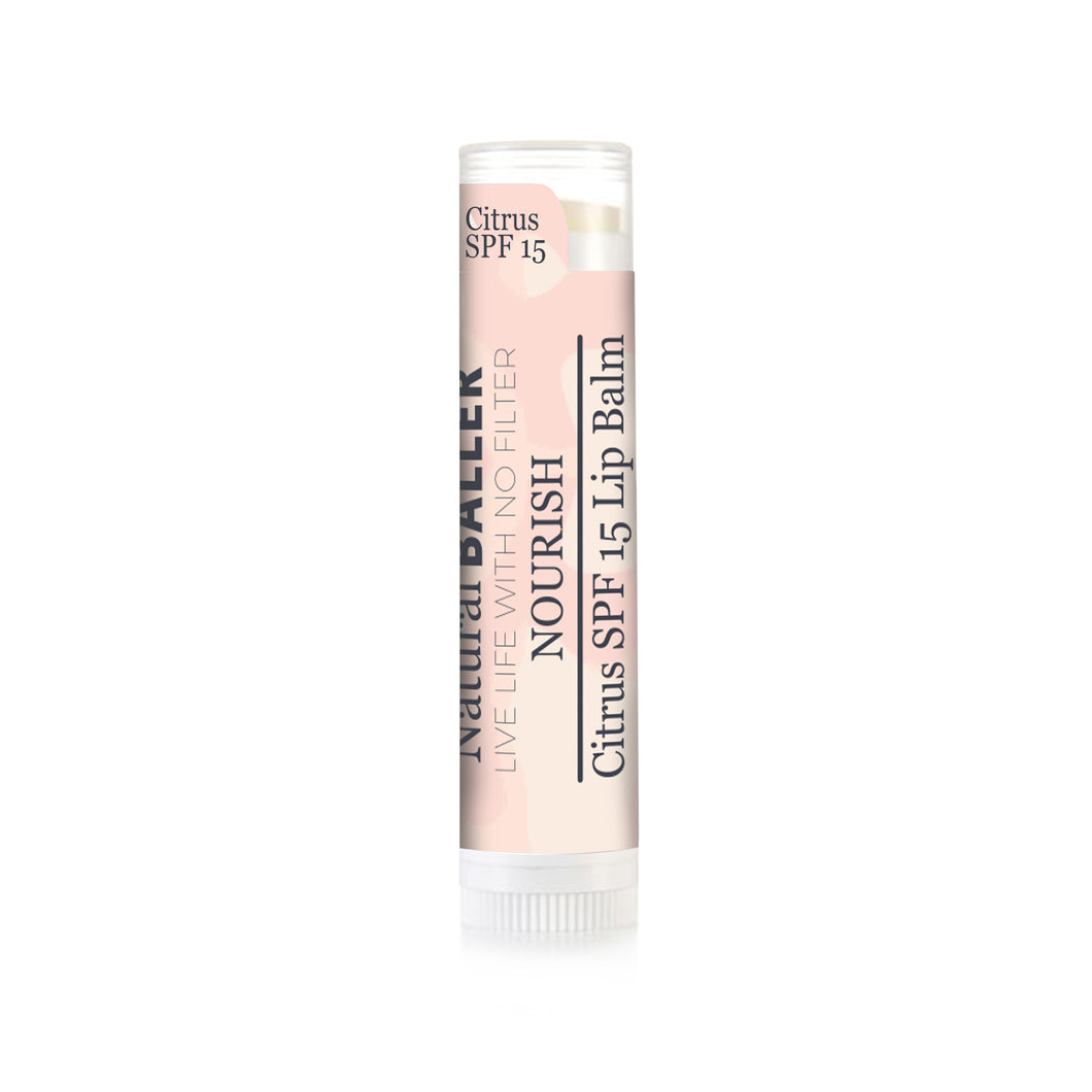 Nourish Lip Balm- Citrus With SPF