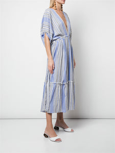 Amira Plunge Neck Dress