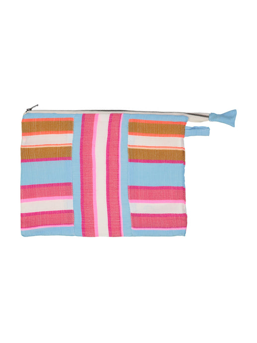 Eskedar Fabric Pouch - Light Sky Blue